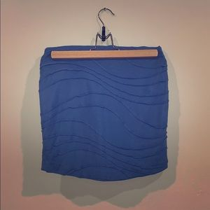 BCBG BLUE SKIRT